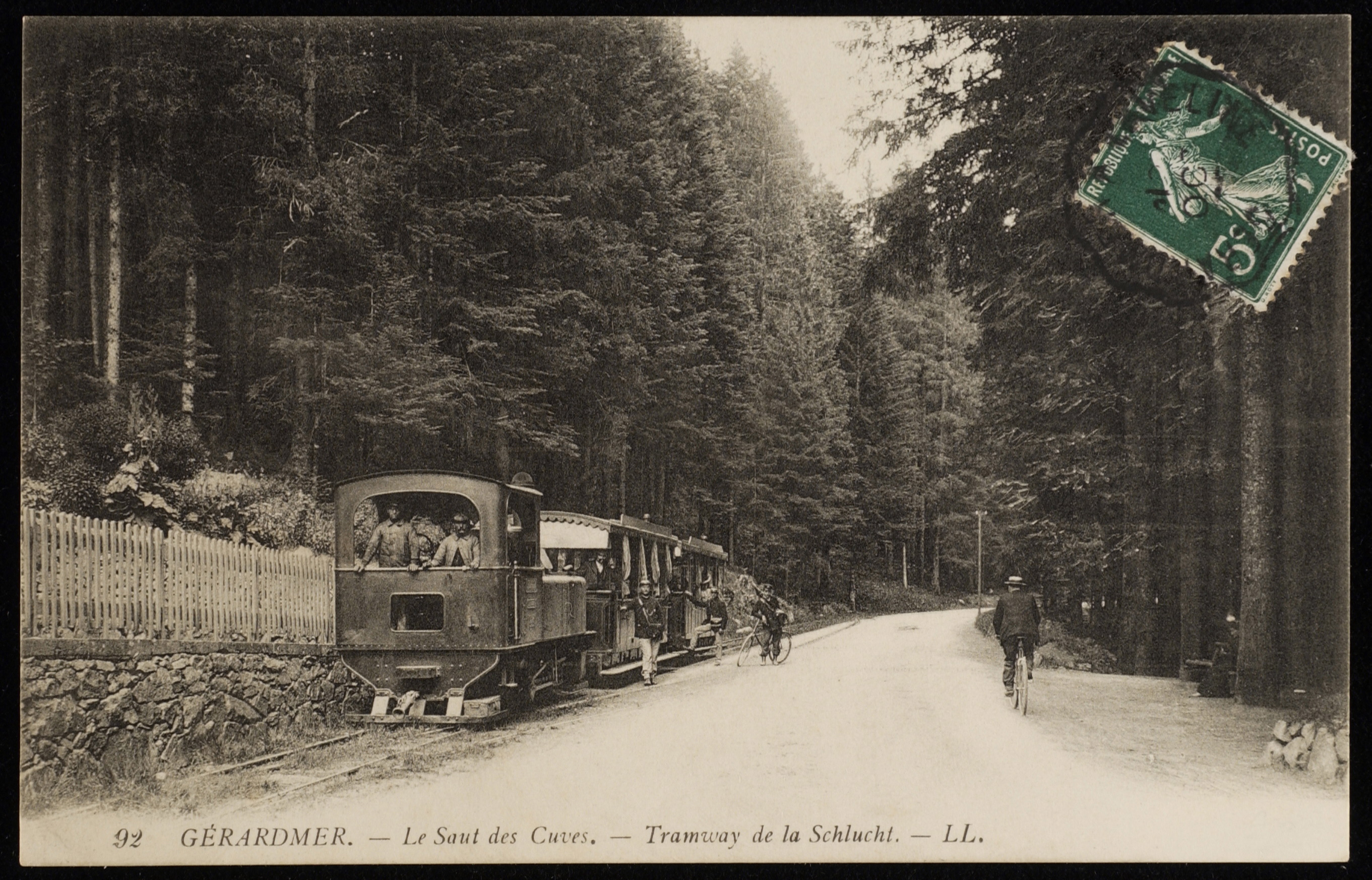 07. Construction et transformation de la route de la Schlucht (1859-1989)